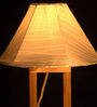 Roscoe Table Lamp in White by Bohemiana