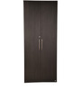Royal Two Door Wardrobe with Premium Hardware Fittings (supported with Hettich / Hafelle Fittings) in Wenge by Pine Crest