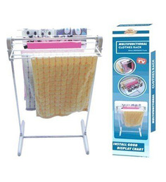 Ruby Portable And Easy To Install Steel Small Clothes Rack -