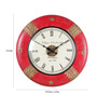 Rural Craft Multicolour Metal & MDF 17.5 Inch Round Little Red Riding Hood Wall Clock