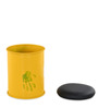 Rustic Drum Stool in Yellow Colour by @home
