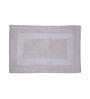 S9home by Seasons White Polyester Bath Mat