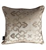 S9Home by Seasons Beige Polyester 16 x 16 Inch Traditional Cushion Cover with Piping - Set of 2