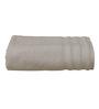 S9home by Seasons White Cotton Plain & Stripes Bath Towel