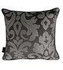 S9Home by Seasons Grey & Silver Polyester 16 x 16 Inch Traditional Cushion Cover with Piping - Set of 4