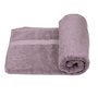 S9home by Seasons Light Purple Cotton Bath Towel