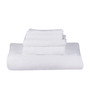 S9home by Seasons Premium Gifting White Cotton 5-Piece Towel Set