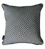 S9Home by Seasons Royal Blue Polyester 16 x 16 Inch Cushion Cover with Piping
