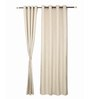 S9home by Seasons Long White Polyester 60x108 INCH Door Curtain - Set of 2