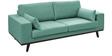 Samson Three Seater Sofa in Aqua Colour by Madesos