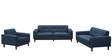 San Dimas Three Seater Sofa in Midnight Blue Colour by CasaCraft