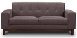 San Dimas Two Seater Sofa in Biscotti Colour by CasaCraft