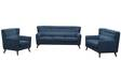 San Pablo Two Seater Sofa in Oxford Blue Colour by CasaCraft