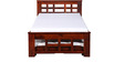 Enumclaw Single Bed in Honey Oak Finish by Woodsworth