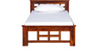 Raliegh Single Bed in Honey Oak Finish by Woodsworth