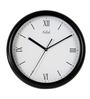 Safal Quartz Border Black MDF 11.75 x 11.75 x 2 Inch Wall Clock