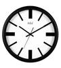Safal Quartz Contemporary Black MDF 14 x 14 x 2 Inch Wall Clock