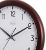 Safal Quartz Brown MDF 11.8 Inch Round All Figured Ideal Sizednut Shaded Wall Clock