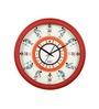 Safal Quartz Round White  MDF Wall Clock
