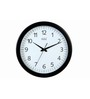 Safal Quartz Black MDF 14 x 14 Inch Simple Wall Clock