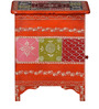 Zamya - Painted End Table by Mudramark