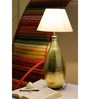 Sahil Sarthak Designs Drop Golden Table Lamp