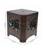 Saibhir Brown Wood Table Lamp