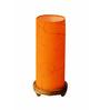 Salebrations Orange Fabric Table Lamp