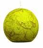 Salebrations Green Yarn with Banana Fiber Hanging Lamp Shade