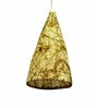 Salebrations conical brown Pendant
