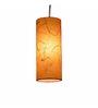Salebrations cylindrical orange Pendant