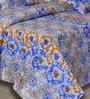 Salona Bichona Dense Floral Printed Single Bedsheet Set