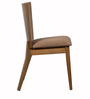 Salucar Dining Chair (Set of 2) in Cocoa & Brown Finish by CasaCraft