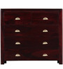 Polson Chest of Drawers in Passion Mahogany Finish by Woodsworth