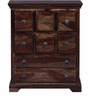 Percy Chest of Drawers in Provincial Teak Finish by Amberville