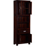 Kalama Double Hutch Cabinet in Honey Oak Finish by Woodsworth