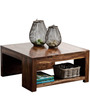 Lynden Edged Coffee Table in Provincial Teak Finish by Woodsworth