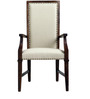Castleford High Back Chair in Provincial Teak Finish by Amberville