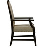 Castleford High Back Arm Chair in Passion Mahogany Finish by Amberville