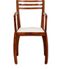 Dvina Arm Chair in Honey Oak Finish by Woodsworth