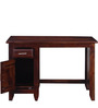 Edmonds Study & Laptop Table in Honey Oak Finish by Woodsworth