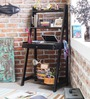 Richmond Study & Laptop Table in Espresso Walnut Finish by Woodsworth