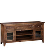 Rochester TV Cabinet in Provincial Teak Finish by Woodsworth