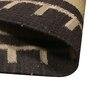Samara Carpets Black Wool & Cotton Carpet