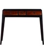 Fresno Console Table in Dual Tone Finish by Woodsworth