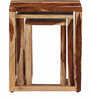 Mosby Set Of Tables in Natural Finish by Woodsworth