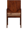 Elkhorn Arm Chair in Provincial Teak Finish by Woodsworth