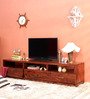 Ontario Entertainment Unit in Provincial Teak Finish by Woodsworth