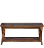 Toston Slatted Coffee Table in Provincial Teak Finish by Woodsworth