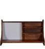 Tacoma Wall Mounted Study & Laptop Table in Honey Oak Finish by Woodsworth
